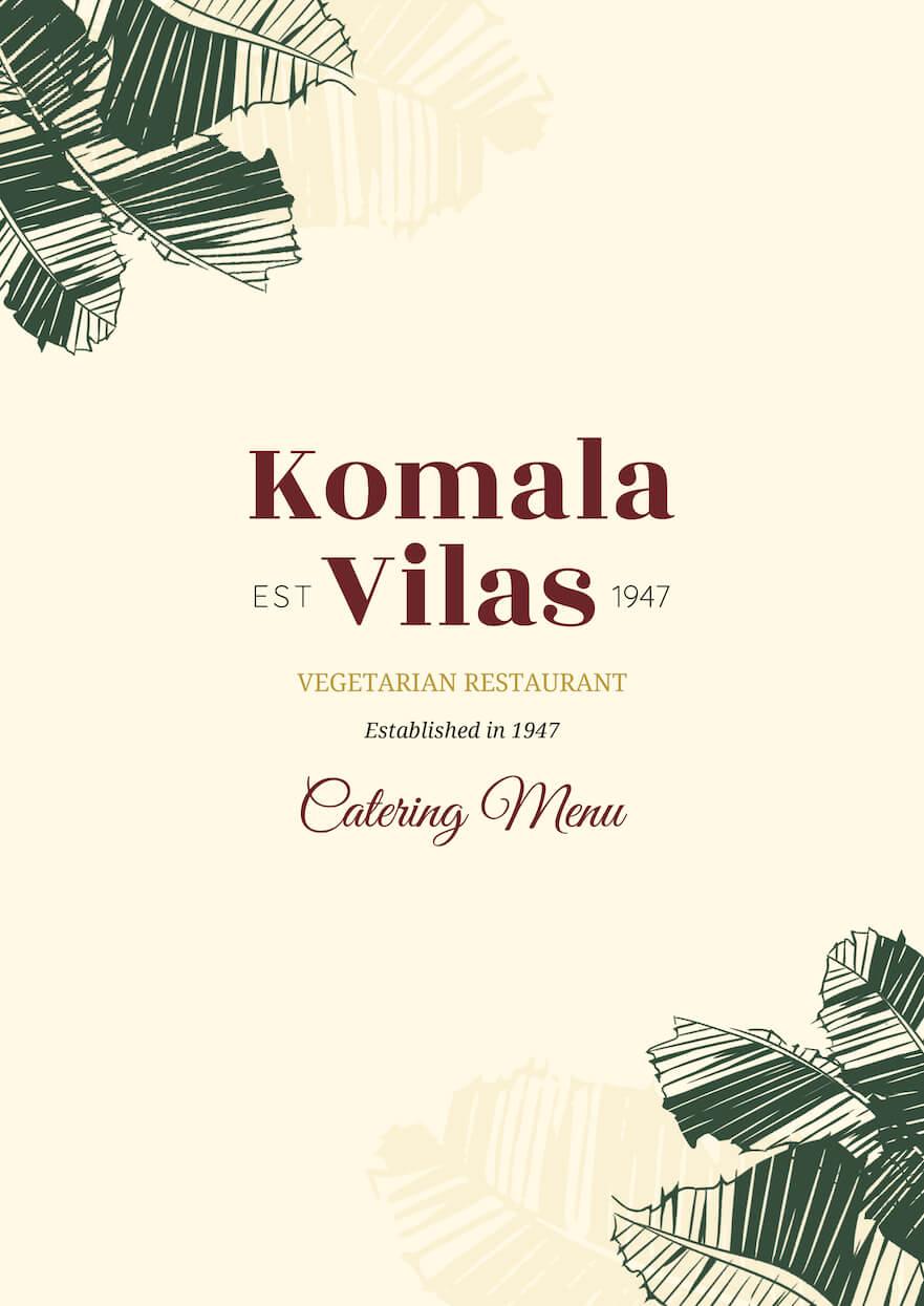 Komala Vilas Catering Menu 01-01 (1)