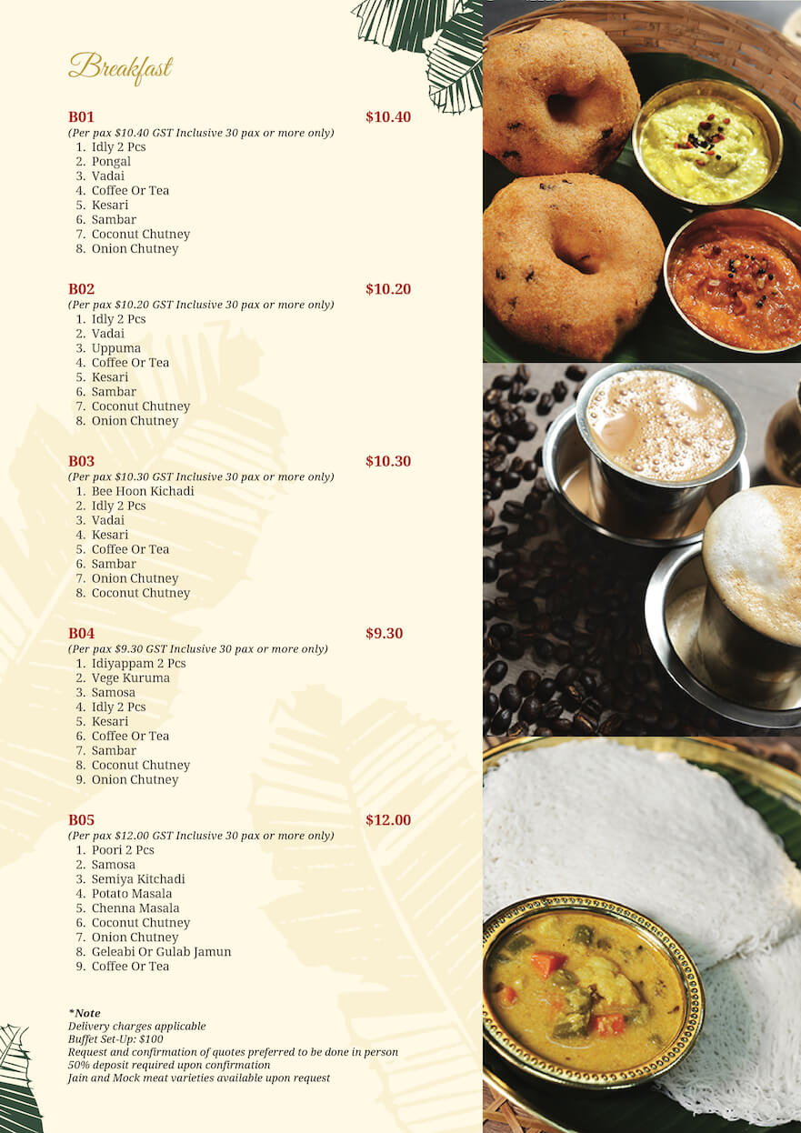Komala Vilas Catering Menu 01-02 (1)